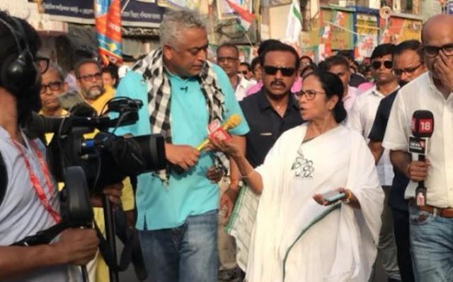 जब राजदीप सरदेसाई से ममता बोलीं- आप लोग तो नरेंद्र मोदी के पूरे दलाल बन गए हैं...