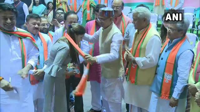सपना चौधरी ने ली BJP की सदस्यता, दिया यह बयान