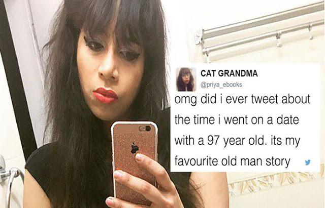 97 साल के बुजुर्ग के साथ डेट पर गई 28 साल की लड़की...