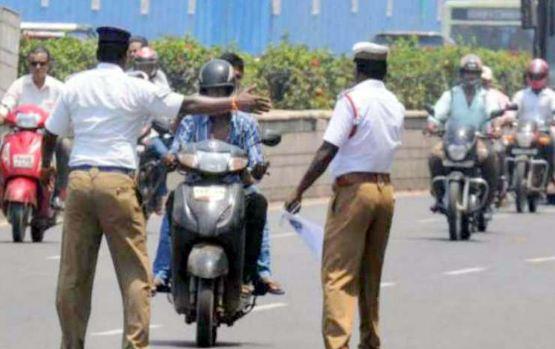 पुलिस ने काटा 42 हजार रुपये का चालान, स्कूटी की कीमत 56 हज़ार...