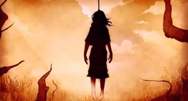 पेड़ से लटकता मिला युवती का शव गांव में मचा हड़कंप