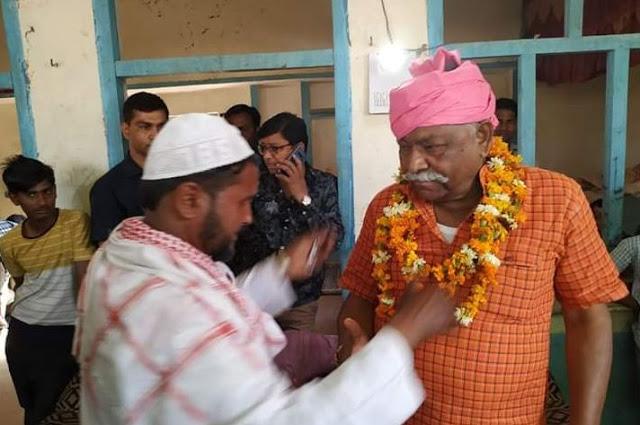 यहां मुस्लिम नेता लड़ा रहे बीजेपी प्रत्याशी कुंवर सर्वेश का चुनाव