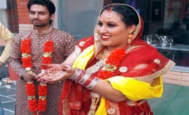 कैलिफोर्निया की युवती सेलिना ने हरियाणा के छोरे सुशील से की शादी