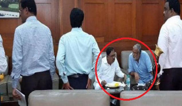 BJP विधायकों के लिए नाश्ता लेकर पहुंचे कांग्रेस नेता जी. परमेश्वर