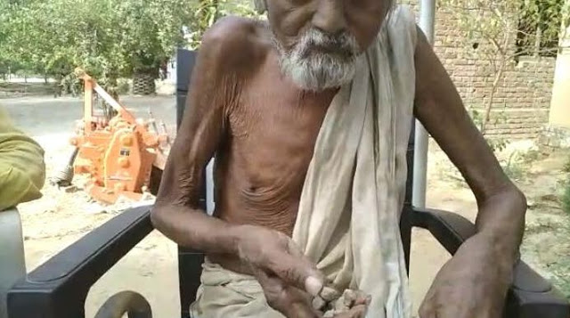 कंकड़-पत्थर और बालू खाकर उसे हजम कर जाते है 100 वर्षीय ये संत!