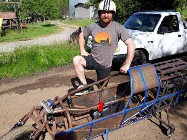 कबाड़ से सबसे तेज दौड़ने वाली Electric Bike बनाने का दावा