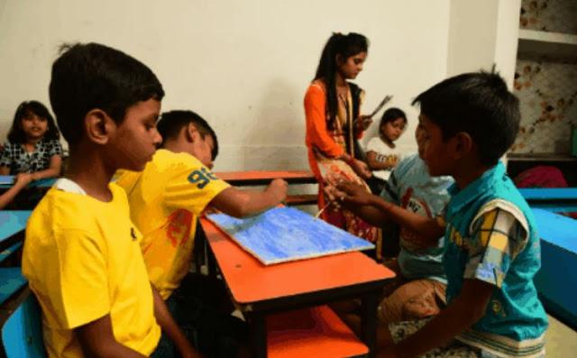 Summer Camp में बच्चो ने ब्रेड डेकोरेशन व फलों से बनाई आकृतियां, मतदाता जागरूकता पर दी स्पीच