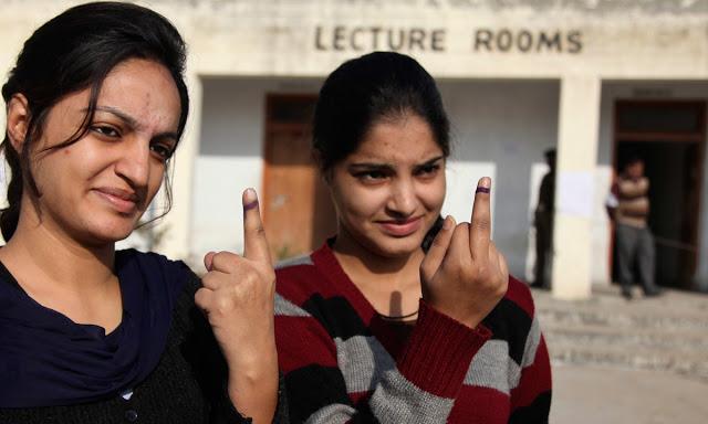 वोट देकर उंगली पर 'स्याही' दिखाकर टेंपो और बस किराए में मिलेगी छूट