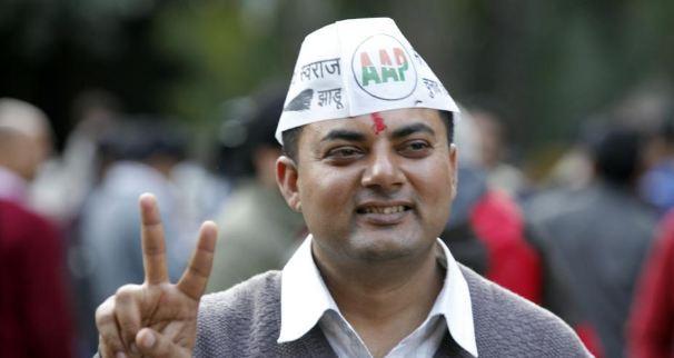 AAP विधायक सोम दत्त मारपीट के मामले में दोषी करार