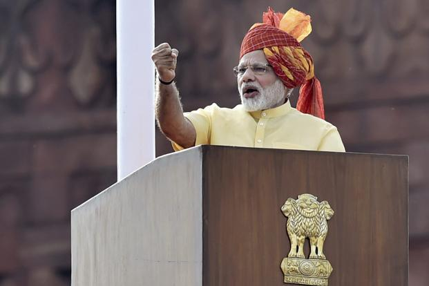 लगातार छठे साल लाल किले की प्राचीर से गरजेंगे PM मोदी