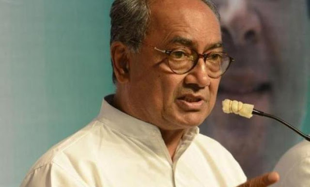 BJP नेताओं को यह बताना चाहिए कि गोडसे देशभक्त था या नहीं: दिग्विजय सिंह
