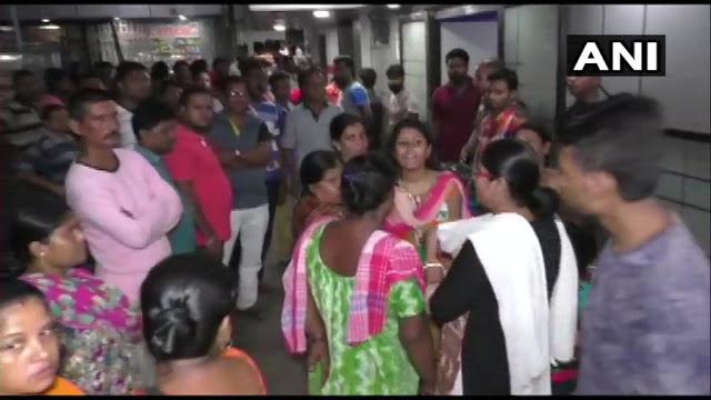 TMC नेता की हत्या, झड़प के बाद आगजनी