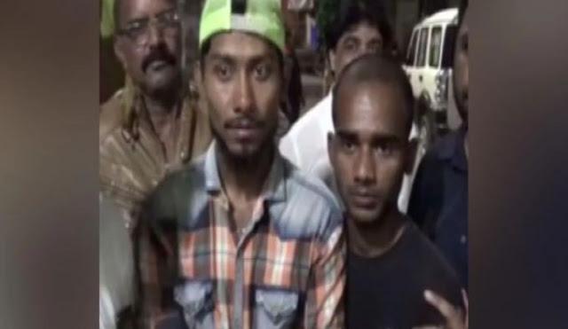 मुस्लिम युवकों से जबरदस्ती 'जय श्री राम' बुलवाने की कोशिश!