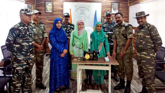 CRPF जवानों की वजह से कश्मीरी युवती नाजिया के घर लौट आईं खुशियां