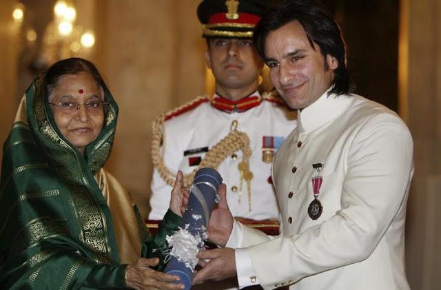भारत सरकार को पद्मश्री सम्मान लौटाना चाहते हैं सैफ अली खान