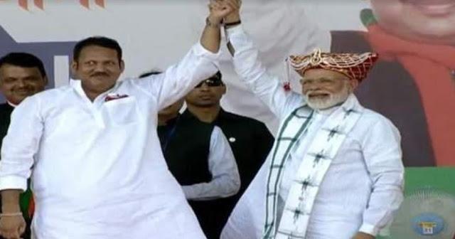PM मोदी ने महा जनादेश यात्रा समारोह में फूंका चुनावी बिगुल