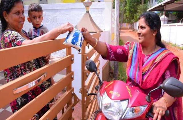 मेयर बनने के बाद भी घर-घर जाकर दूध बेचती हैं ये महिला