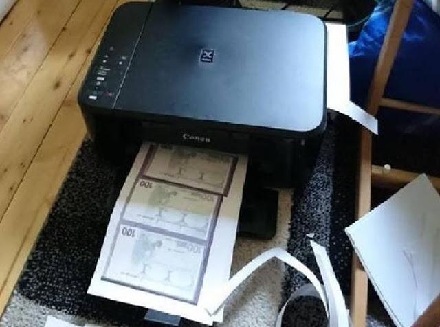 कार खरीदने के लिए महिला ने घर में इंकजैट प्रिंटर से छाप लिए नकली नोट