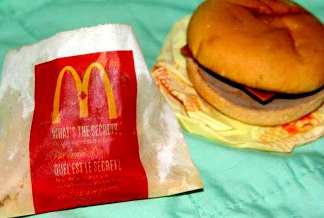 62.65 डॉलर में नीलाम हुआ 6 साल पुराना मैकडॉनल्ड्स का बर्गर और फ्रेंच फ्राइज़