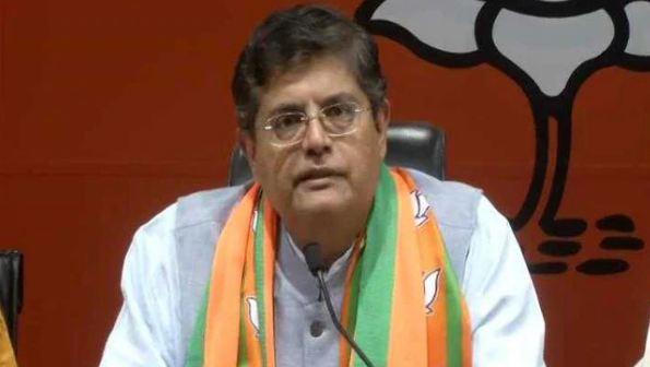 BJP नेता ने शेयर किया तूफान का वीडियो
