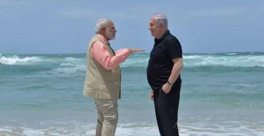 फ्रेंडशिप डे के मौके पर इजरायल ने भारत को बेहद खास तरीके से दी बधाई