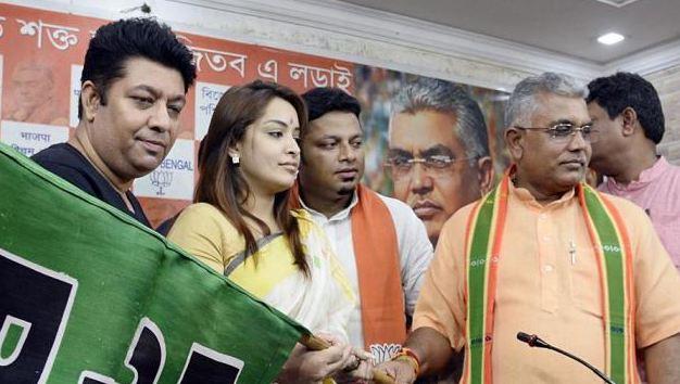 एक्ट्रेस रिमझिम मित्रा व दो अन्य BJP में शामिल