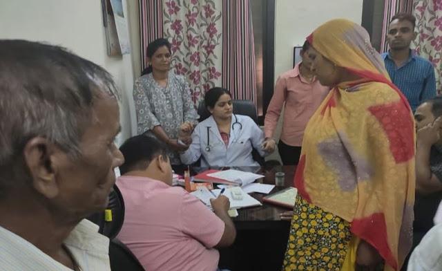 मरीज से 3500 रुपए रिश्वत लेते महिला डॉक्टर गिरफ्तार