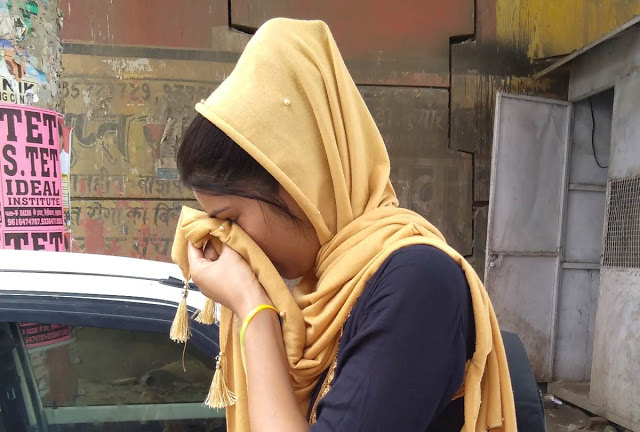 विवाहिता बोली- इंसाफ नहीं मिला तो ढाई साल की बेटी संग कर लूंगी आत्मदाह