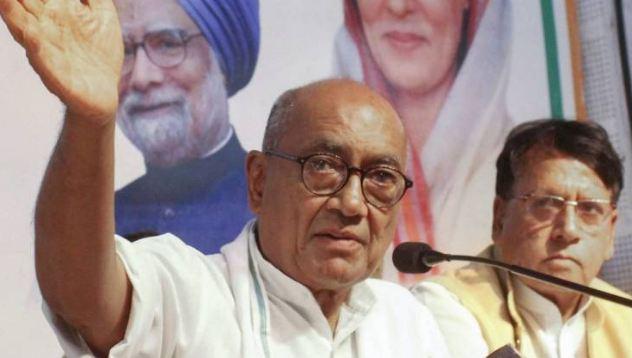 BJP-RSS की वजह से बढ़ रही मॉब लिंचिंग की घटनाएं: दिग्विजय सिंह