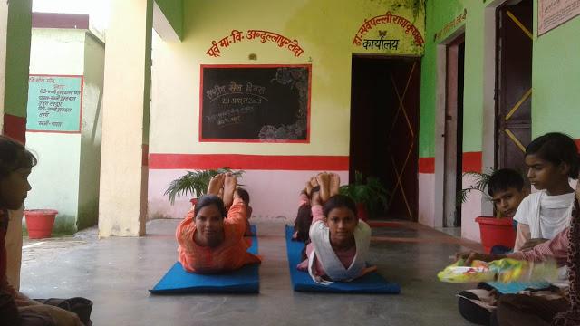 फिट इंडिया मूवमेंट देखकर खूब खेले स्कूली बच्चे...