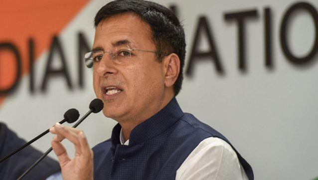 राजग के पहले कार्यकाल में बैंक धोखाधड़ी के मामले बढ़े : सुरजेवाला