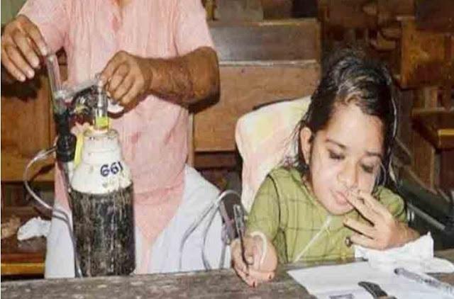 जज़्बे को सलाम, UPSC की परीक्षा में ऑक्सीजन सिलेंडर के साथ बैठी लतीशा...