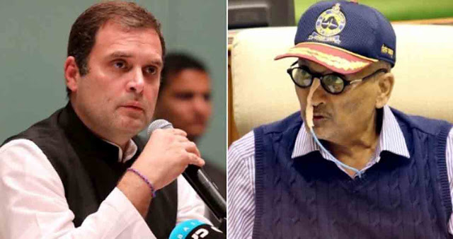 कैंसर से जूझ रहे पर्रिकर पर राहुल की राजनीति उचित नहीं