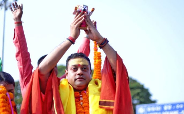 भगवान जगन्नाथ की मूर्ति के साथ चुनावी रैली करना संबित पात्रा को पड़ा महंगा, शिकायत दर्ज
