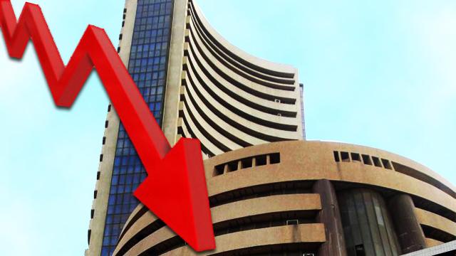 शेयर बाजार के शुरुआती कारोबार में गिरावट का रुख