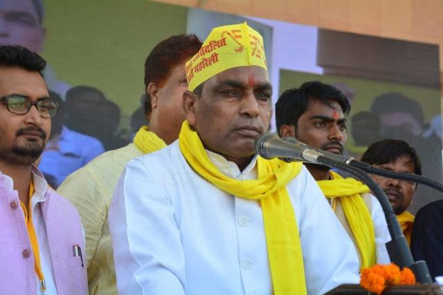 OP राजभर ने BJP नेताओं को दी गाली, बोले- दस जूता मारो