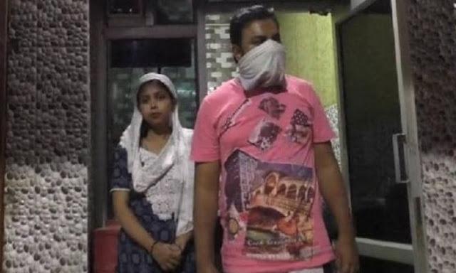 मुस्लिम महिला बीजेपी में हुई शामिल, असामाजिक तत्वों ने शौहर को पीटा!