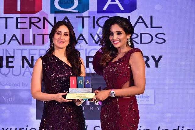 ब्रांड इम्पैक्ट के इंटरनेशनल क्वालिटी अवार्ड्स में करीना कपूर खान ने लगाया ग्लैमर का तड़का