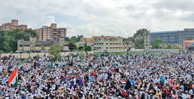 तबरेज़ अंसारी मॉब लिंचिंग के खिलाफ़ उतरे लाखों मुसलमान...