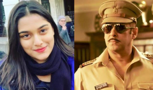 दबंग 3 में महेश मांजरेकर की बेटी के साथ रोमांस करेंगे सलमान खान