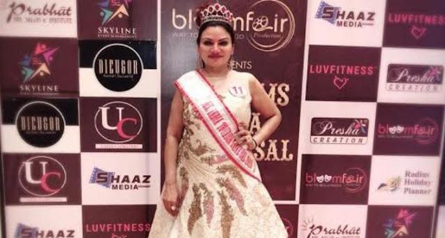 मिस इंडिया टूरिज्म कल्पना ब्रह्मभट्ट अब मेक्सिको में अपना जलवा दिखाने के लिए तैयार