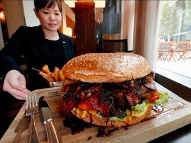 ये है सबसे महंगा बर्गर, कीमत सुनकर उड़ जाएंगे होश