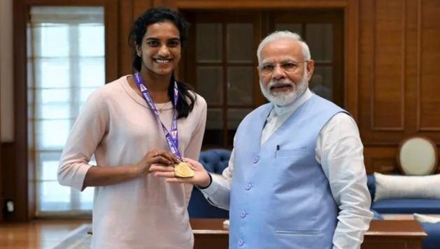 PV सिंधु की मोदी से मुलाकात