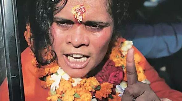 साध्वी प्राची ने प्रियंका गांधी को कहा 'बरसाती मेंढक'