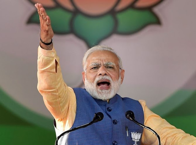 मजबूरी और अवसरवाद की महामिलावट का पंजा: PM मोदी