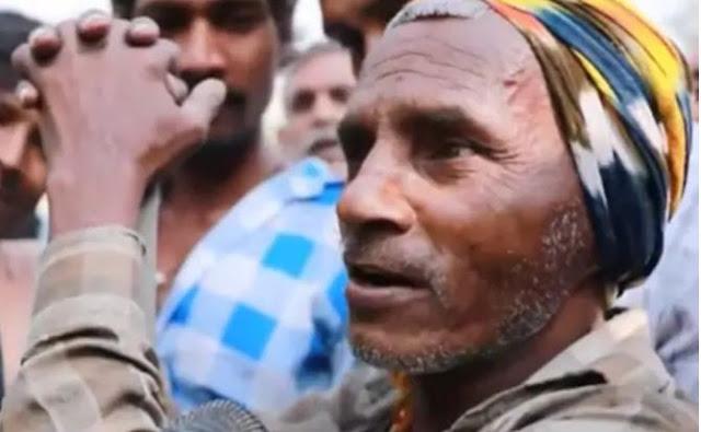 बिहारी मजदूर ने फर्राटेदार अंग्रेजी में जवाब दे रिपोर्टर को कर दिया हैरान