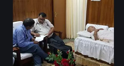 छात्रा का बयान दर्ज होने के बाद स्वामी चिन्मयानंद की तबीयत बिगड़ी