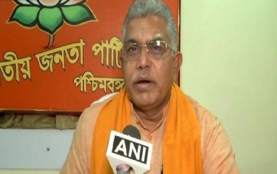 BJP पश्चिम बंगाल अध्यक्ष दिलीप घोष के खिलाफ केस दर्ज