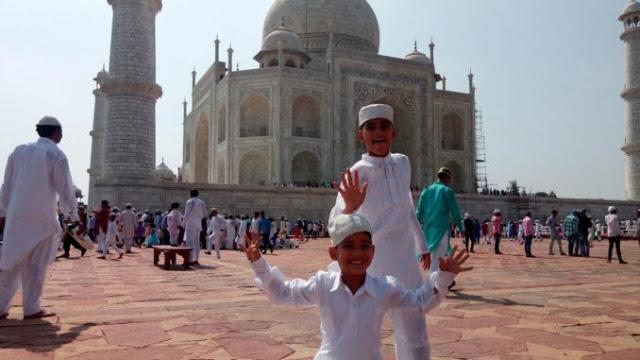 ईद पर ताजमहल में 3 घंटे रहेगा निशुल्क प्रवेश
