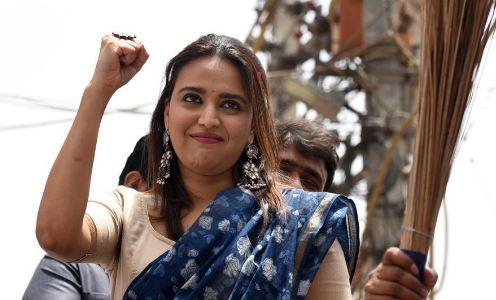 BJP सांसद ने स्वरा भास्कर से मांगी माफ़ी